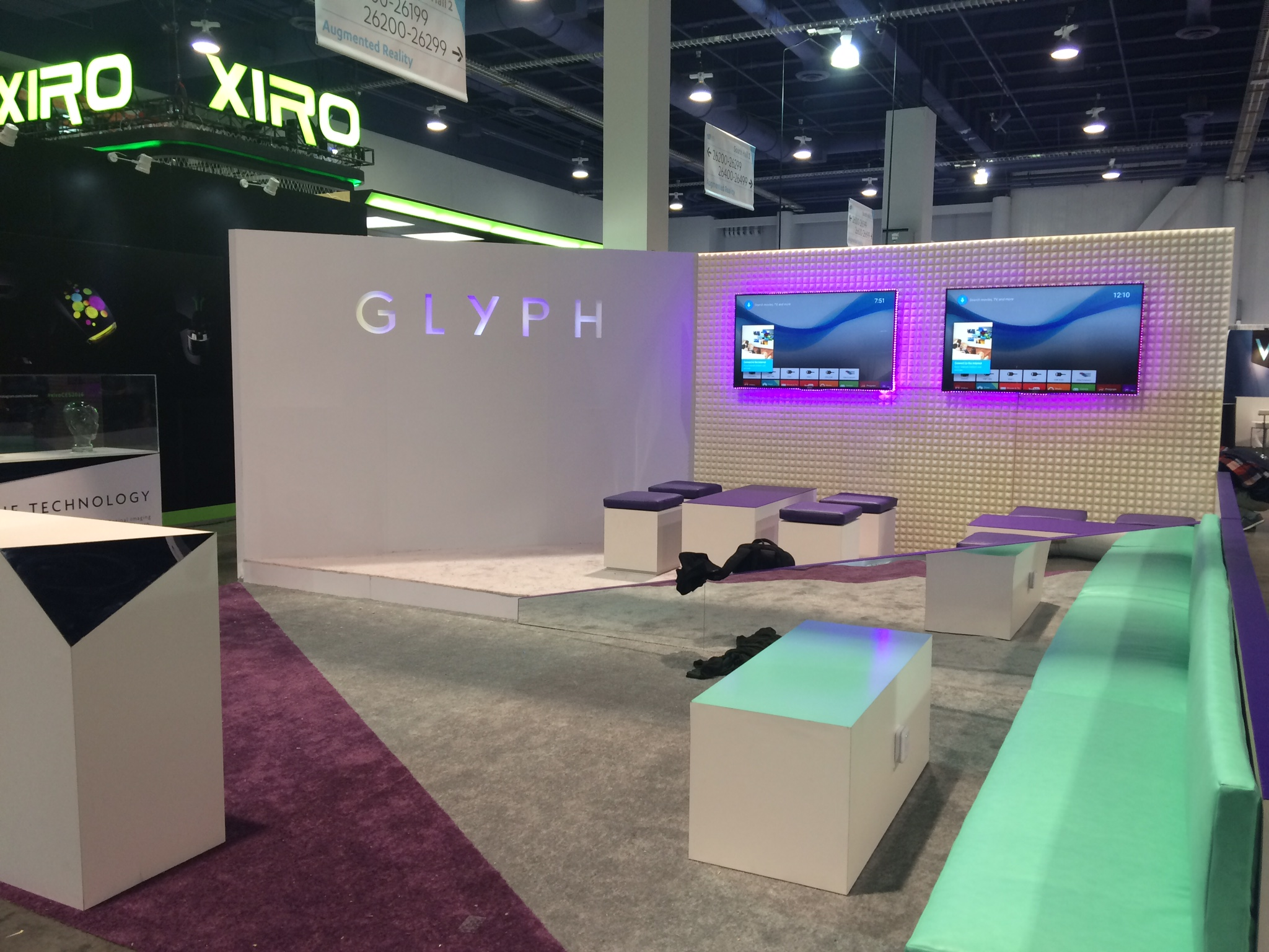 Glyph Exhibit Booth