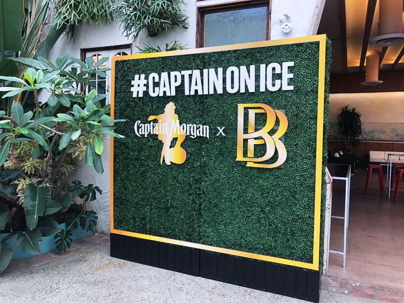 Captain Morgan brand activation